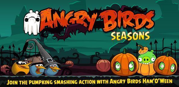 Novità Games|Arriva la nuova versione Agry Birds per Halloween