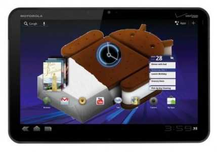 News | anche per Motorola XOOM arriverà Ice Cream Sandwich !