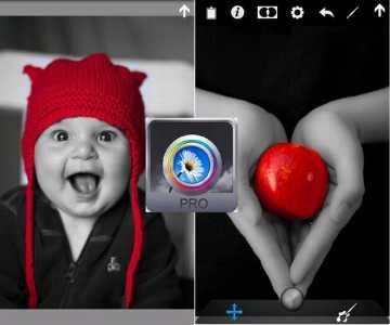 App VideoReview | Color Splash Effect PRO: Date colore alle vostre foto in Bianco e Nero!
