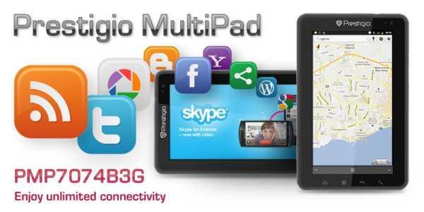 Novità Terminali| Prestigio Multipad 7: Il tablet Android a 399 Euro!