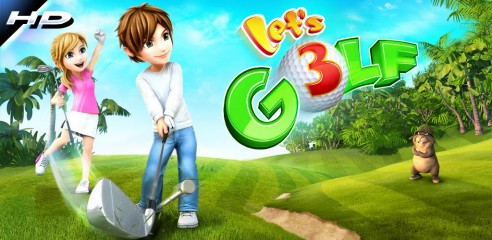 News | Let's Golf 3 da oggi gratis sull'Android Market....