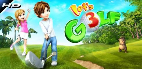 News | Let's Golf 3 da oggi gratis sull'Android Market....
