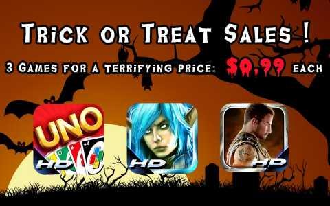 Novità Games| Halloween arriva in casa Gameloft!