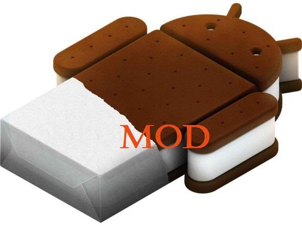 Novità | Prime modifiche grafiche per Ice Cream Sandwich