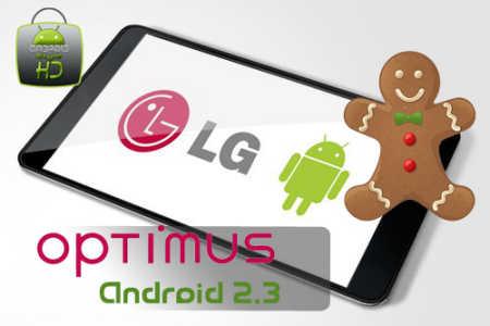 News | gamma Lg Optimus finalmente arriva l'update ufficiale a Gingerbread!