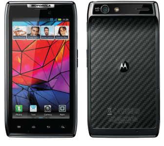 Motorola Razr Droid: telefono Android preferito dalla Verizon
