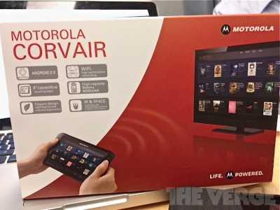 Novità Terminali| Motorola Corvair: il tablet telecomando!!