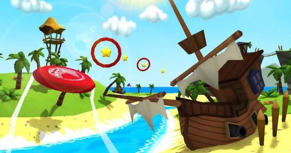 Novità Games| Frisbee:lancia il frisbee!
