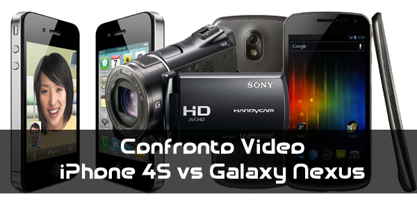 News | Confronto Video iPhone 4S vs Galaxy Nexus!