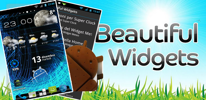 Guide | Home in stile ICS con Beautiful widgets!