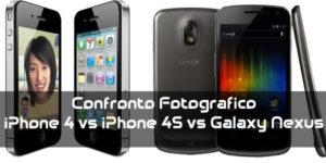 nexus vs iPhone 4-4s
