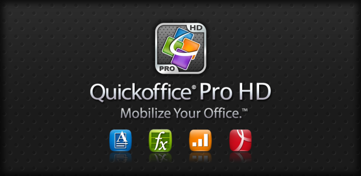Novità Apps | Quickoffice Pro HD 5.0 per Android