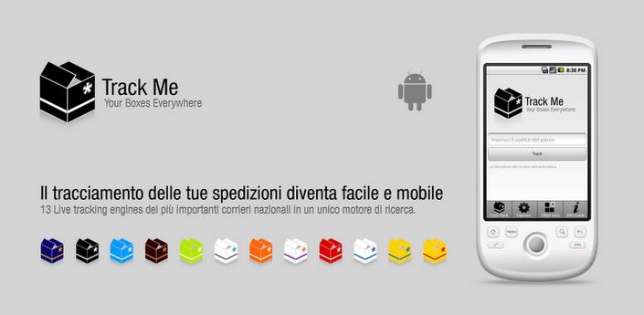 Novità Apps | Track Me: rintraccia i tuoi pacchi e le tue lettere direttamente dal tuo smartphone!