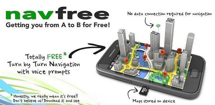 Novità Apps| Raggiungi la tua destinazione senza difficoltà con NavFree!