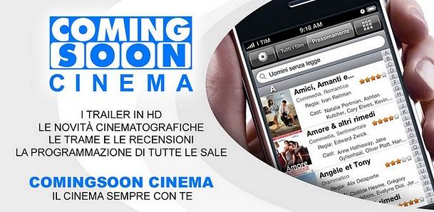 Android Apps | Programmazione cinematografica a portata di smartphone con ComingSoon Cinema HD