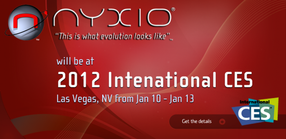 News | Nyxio annuncia le sue Smart TV che presenterà al CES 2012