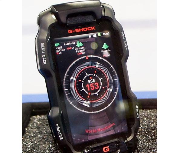 News Terminali | G-Shock: smartphone Casio indistruttibile