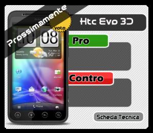 Modello schede Tecnica htc evo 3d