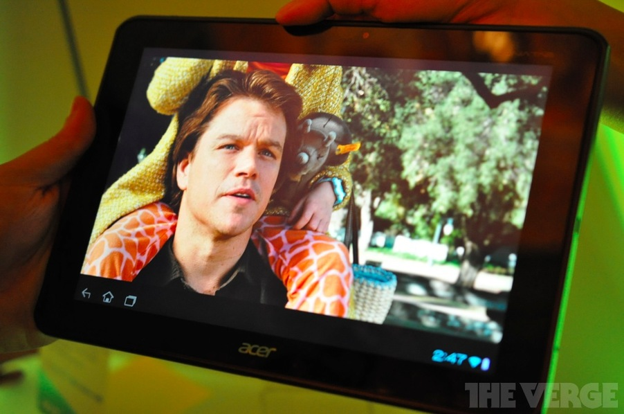 News Tablet | Acer Iconia A700: Tablet Tegra 3,display Full HD e Android 4.0 (hands-on video)