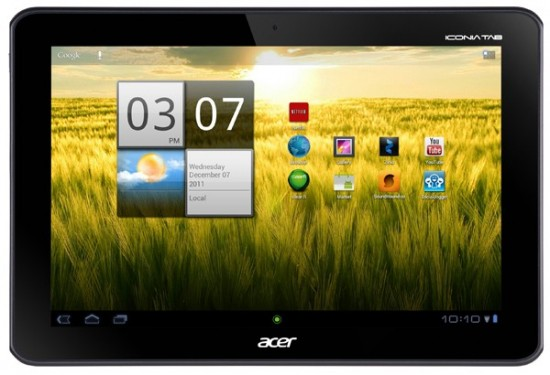 News Tablet | Acer Iconia A200 Tablet  a gennaio!