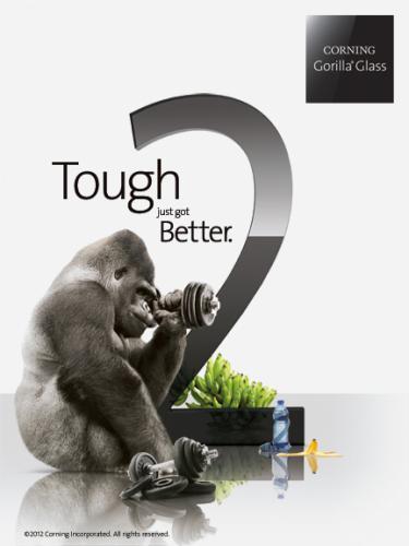 News   Gorilla Glass 2,presentato al CES spessore ridotto del 20%!
