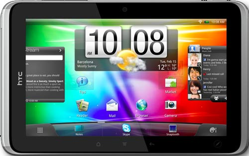 News Tablet | In arrivo Android Ice Cream Sandwich per HTC Flyer