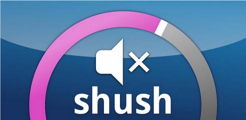 Apps | Shush: riabilitare la suoneria automaticamente!
