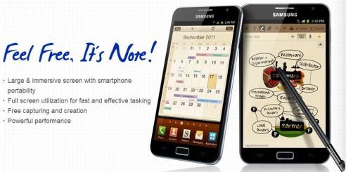 News | Galaxy Note disponibile nuovo aggiornamento via OTA!