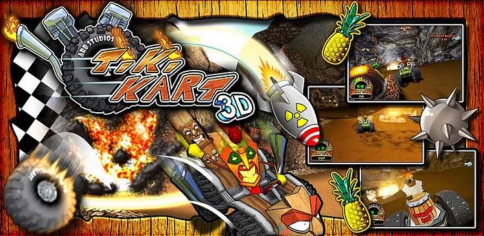 VideoReview Giochi | Tiki Kart 3D: corse estreme su Kart!