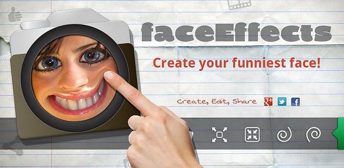 Novità Apps| Divertiti a personalizzare le tue foto con 'effetti viso'