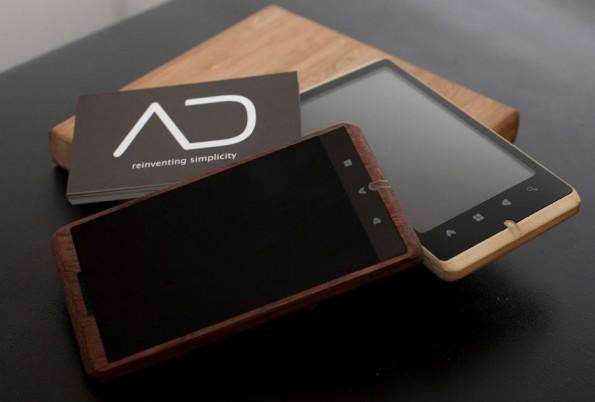 Novità Terminali  Ecco che arriva lo smartphone in Bamboo