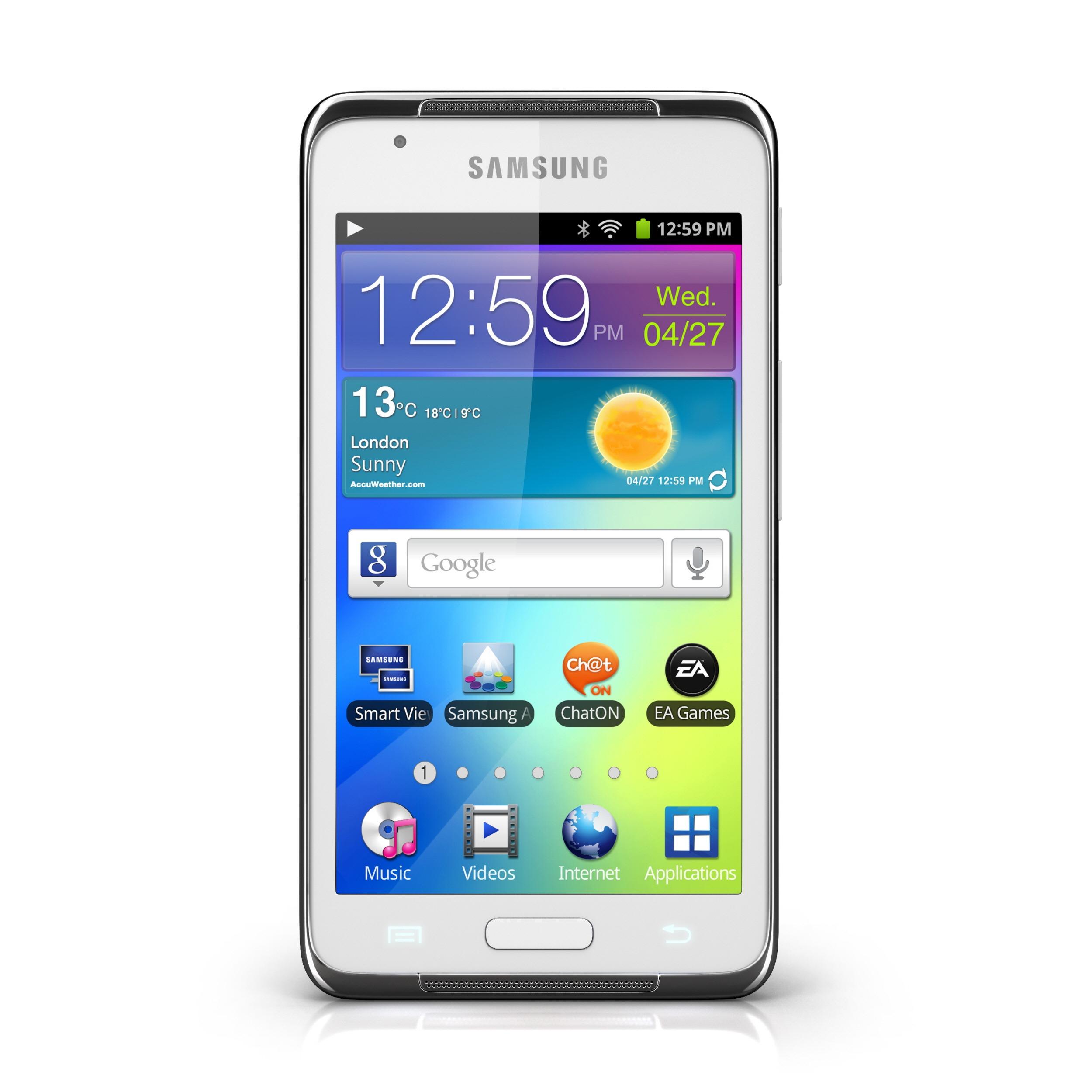 MWC 2012| Samsung porta al MWC Galaxy Beam, con proiettore incorporato!