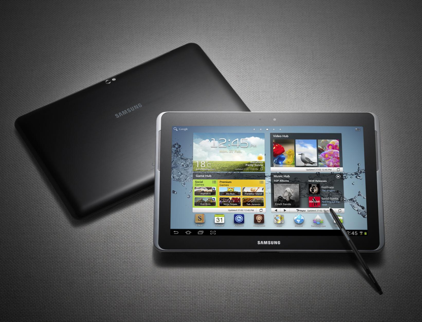 News Terminali | Samsung Galaxy Note 10.1 ufficialmente presentato a MWC 2012 [AGGIORNAMENTO: Prezzo e Data]