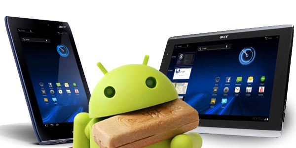 News Tablet | Android Ice Cream Sandwich ad Aprile per Acer Iconia Tab A500