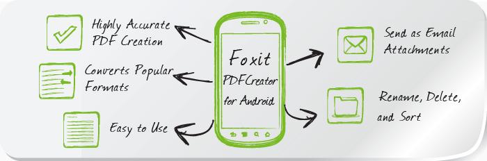 Novità Apps| Foxit lancia PDFCreator per Android