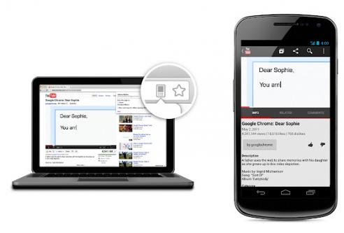 News Software | Google Chrome: nuove funzionalità per inviare link alla versione mobile