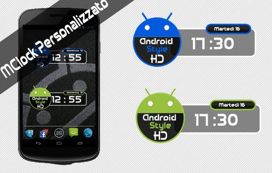 GraphStyle | Personalizzare il proprio orologio con mClock!