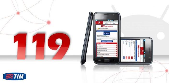 News Apps | Arriva nel market Android l'applicazione Ufficiale 119 SelfService di TIM