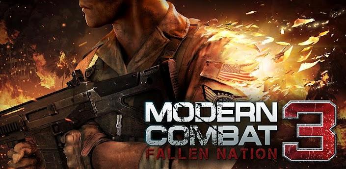 Novità Games| Modern Combat 3: Fallen Nation gratis per i possessori del Galaxy SII