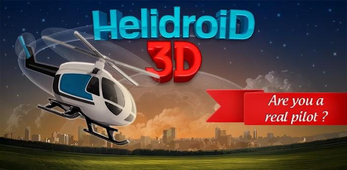 News Giochi | Helidroid 3D: Pilota un elicottero con il tuo smartphone