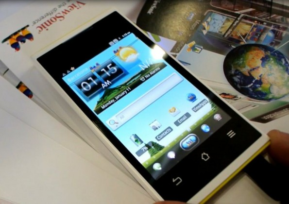 MWC 2012 | E' Viewphone 4S il primo Android ICS dual-sim