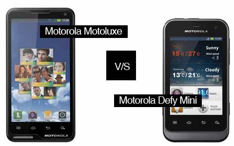 News Terminali | Annunciati i prezzi italiani per Motoluxe e Defy Mini
