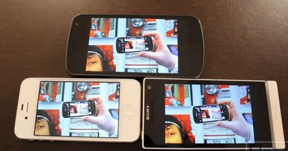 Confronto | Display Galaxy Nexus VS iPhone 4S VS Xperia S !