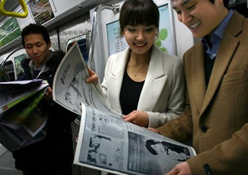 Novità| LG presenta E-Paper Display: Lo schermo flessibile!
