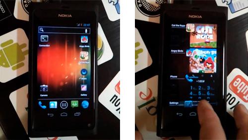 Android 4.0.3 ICS è arrivato su...Nokia N9!