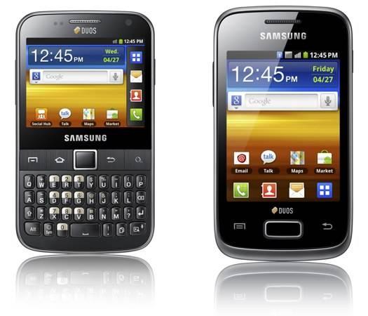 Novità Terminali| Galaxy Y Duos e Galaxy Y Pro Duos: Gli smartphone Dual SIM di Samsung