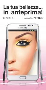 Iniziativa Samsung Sephora_2