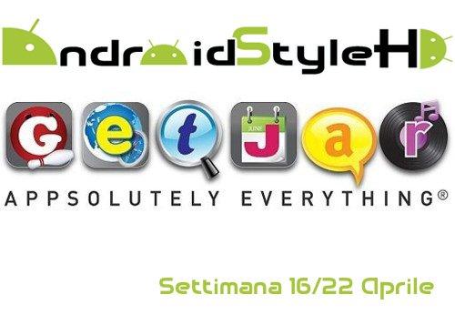 GetJar Apps | Le applicazioni della settimana (16/22) in offerta