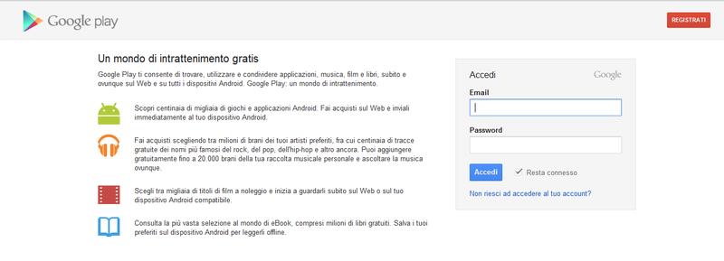 Rumors | Google play store, in arrivo anche in Italia?
