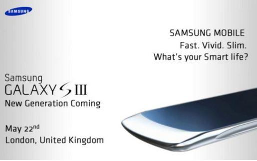 News Terminali | Galaxy S 3 presentato a maggio?!